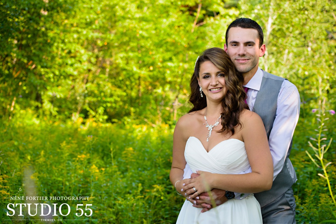 wedding & engagement photography in Timmins Ontario